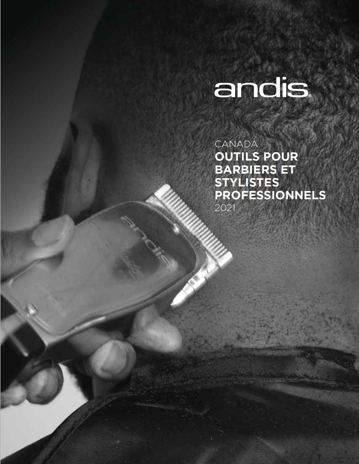 Andis Barber & Beauty Canadian Catalog - French