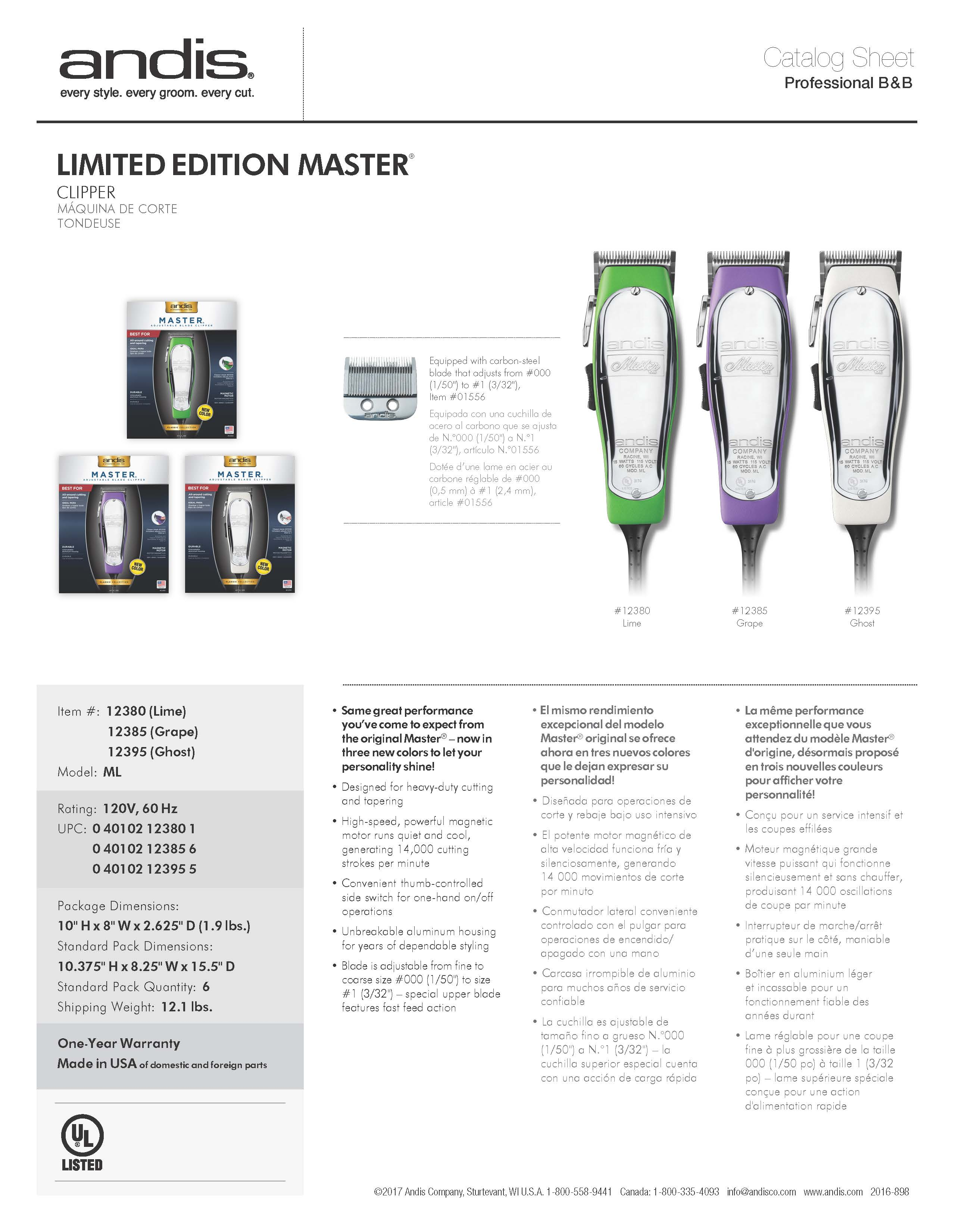 12380 Master Clipper - Lime