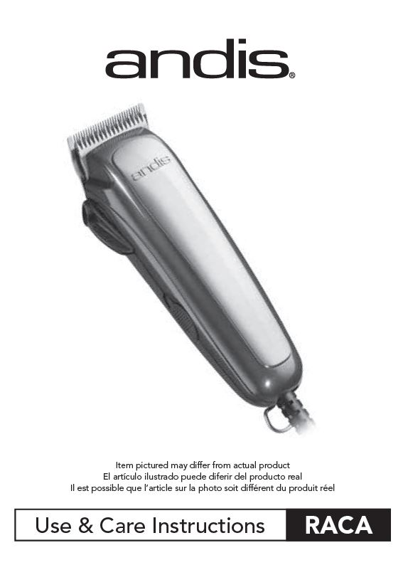 60275 Groom Perfect Clipper Use and Care