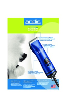 63970 Power Groom�+ 1-Speed Detachable Blade Clipper