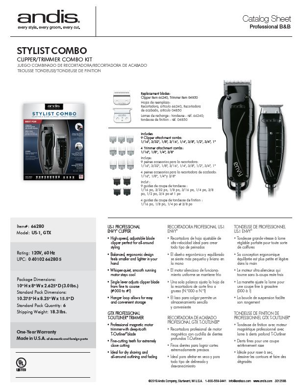 66280 Stylist Combo Catalog Sheet