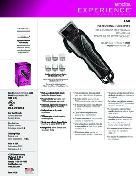 66285 Experience� USX Adjustable Blade Clipper