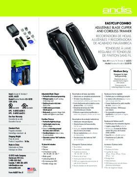 66305 EasyClip™ Combo Clipper/Trimmer