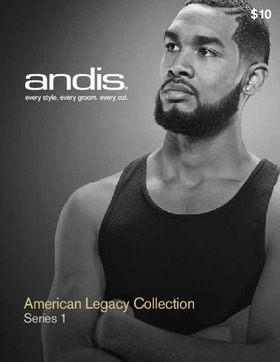 Andis Guide - American Legacy Collection: Series 1 Cutting Guide