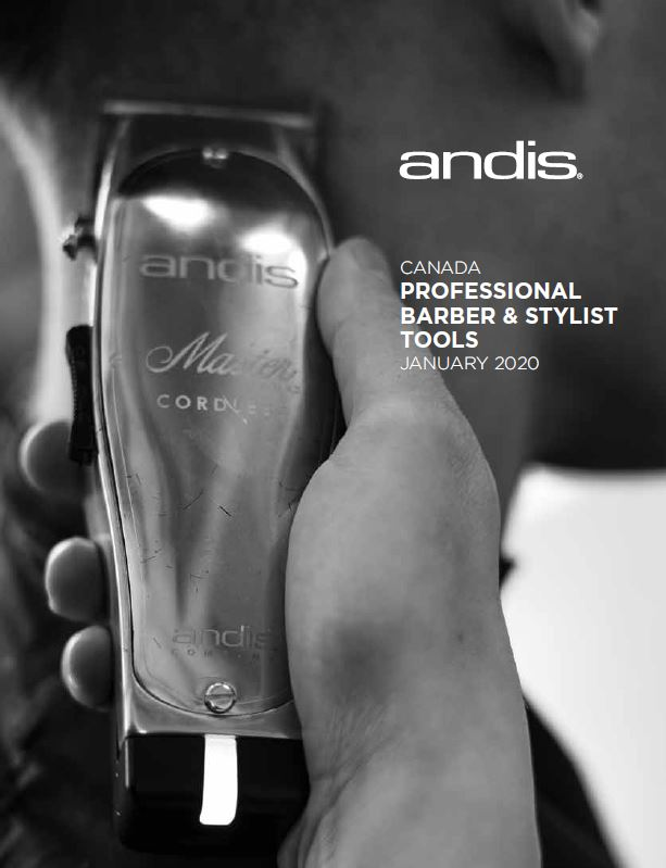 Andis Barber & Beauty Canadian Catalog