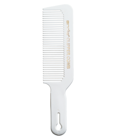 Clipper Comb — White Attachment Combs and Accessories