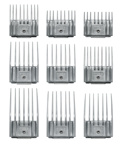 Adjustable Spring 9-Comb Set