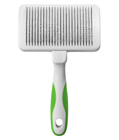 Self-Cleaning Slicker Brush Grooming Tools