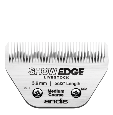 Show Edge® Detachable Livestock Blade — Medium Coarse