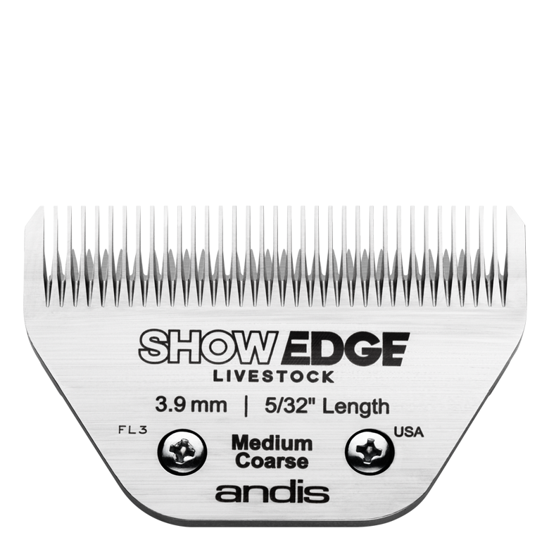 Show Edge® Detachable Livestock Blade — Medium Coarse Blades