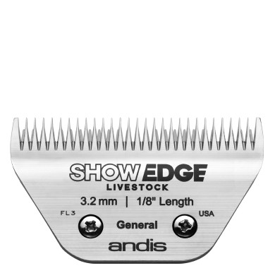 Show Edge® Detachable Livestock Blade — General
