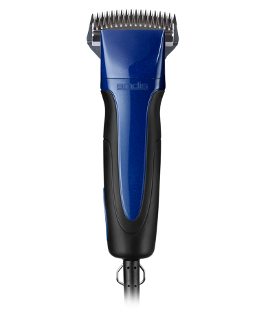 Excel 5-Speed+ Detachable Blade Clipper with Super Blocking Blade — Indigo Blue