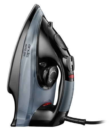 2-Way Auto-Off Steam Iron — Black