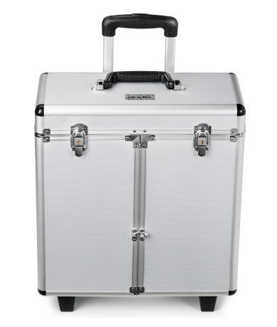 Aluminum Grooming Case with Wheels