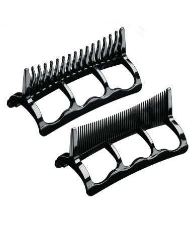 Styler 1875 Wide-tooth and Fine-tooth Attachment Combs