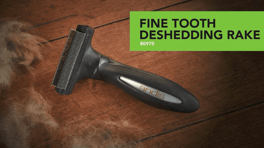 Fine Tooth Deshedding Rake