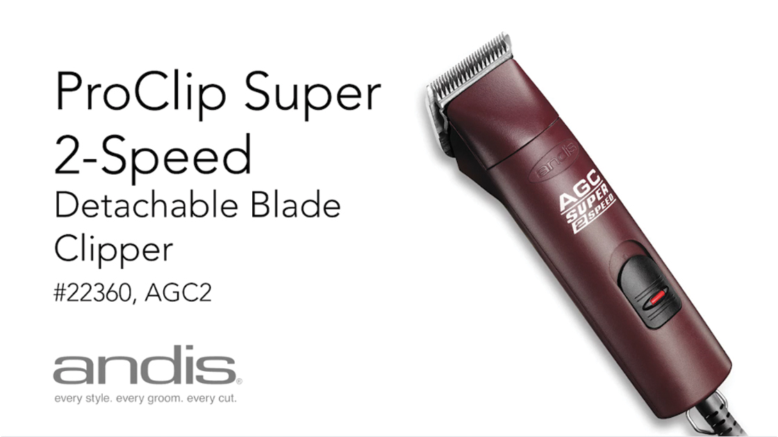 ProClip™ AGC® Super 2-Speed+ Clipper - Burgundy