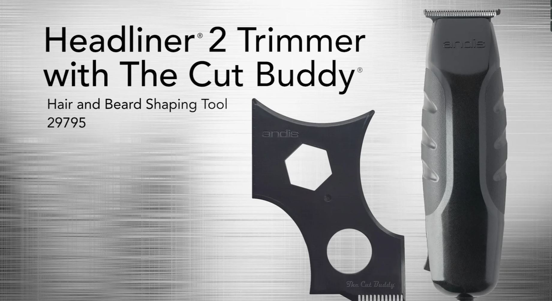 Headliner 2 Trimmer with The Cut Buddy