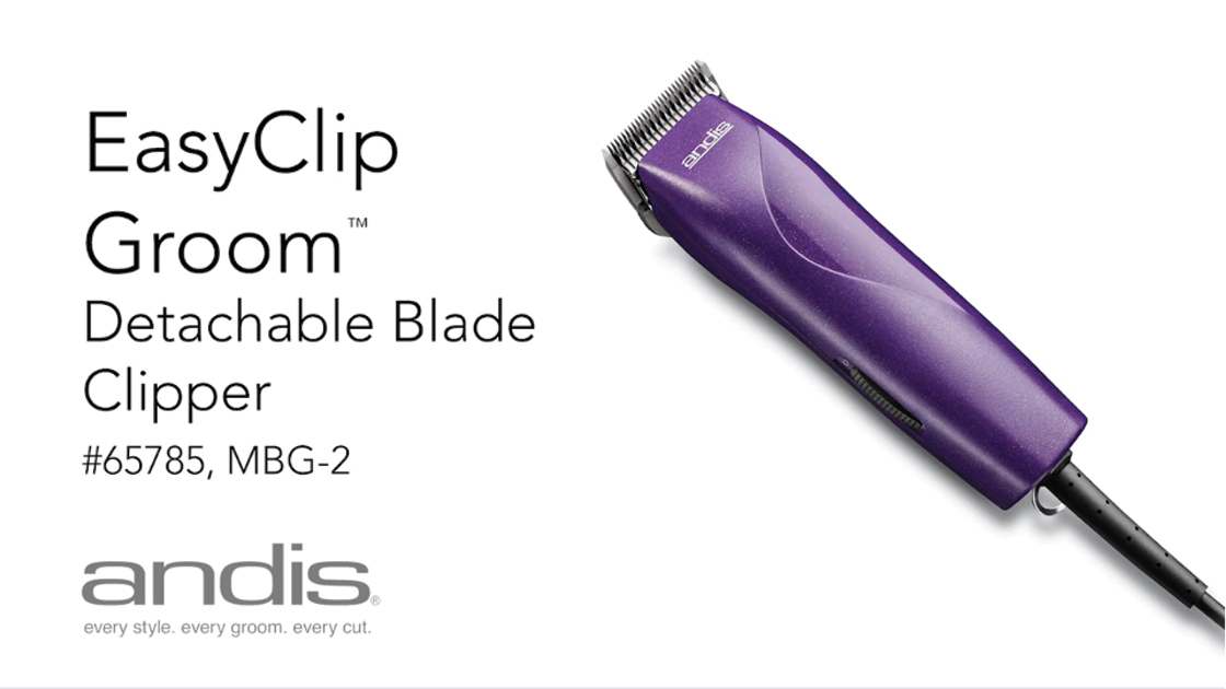 Easy Clip® Groom Clipper - Purple